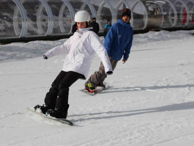 Mathieu Justafré - Cours de snowboard