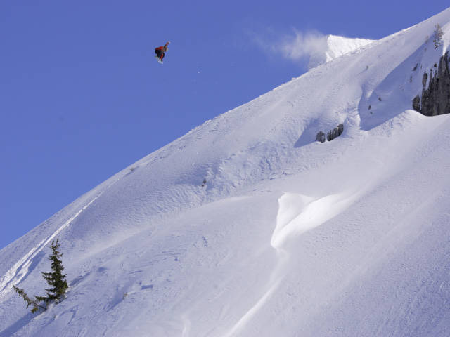 Mathieu Justafré - Freestyle Backcountry - Shooting Eric Bergeri