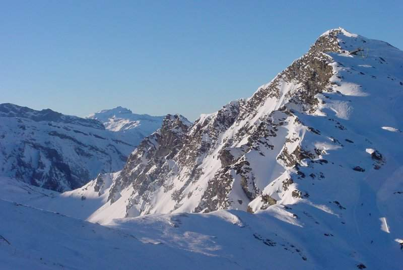 Pas de Chavanette à Avo, frontière avec la Suisse