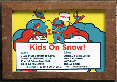 Kids On Snow en France 2012-2013