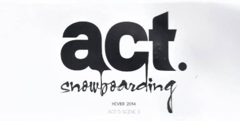 France Snowboard dans Act Snowboarding pour un article Spécial Kids