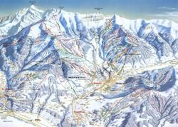 Plan des pistes Megève