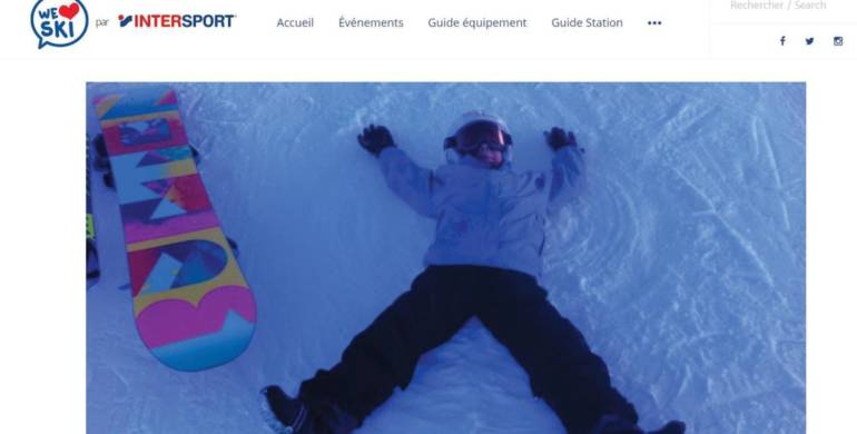 France Snowboard sur le blog d'Intersport