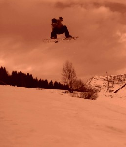 snowboards teacher - lessons in french or english