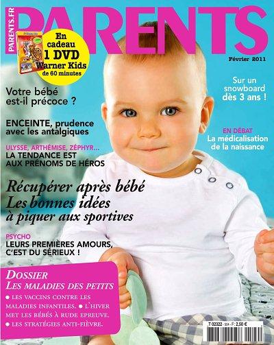 20110106 N° 504 Couverture Magazine parents