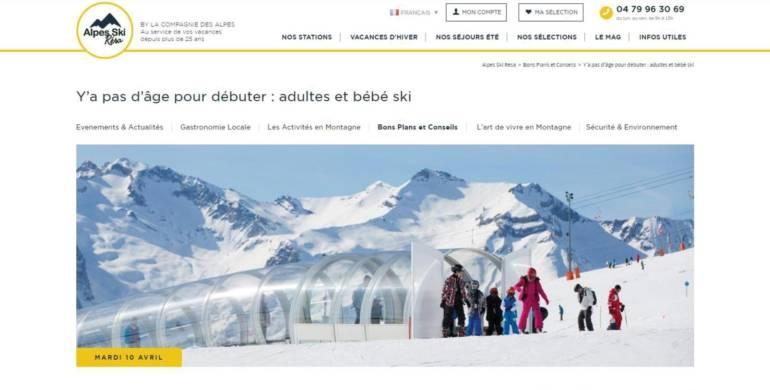 France Snowboard sur Alpes Ski Résa de la Compagnie des Alpes