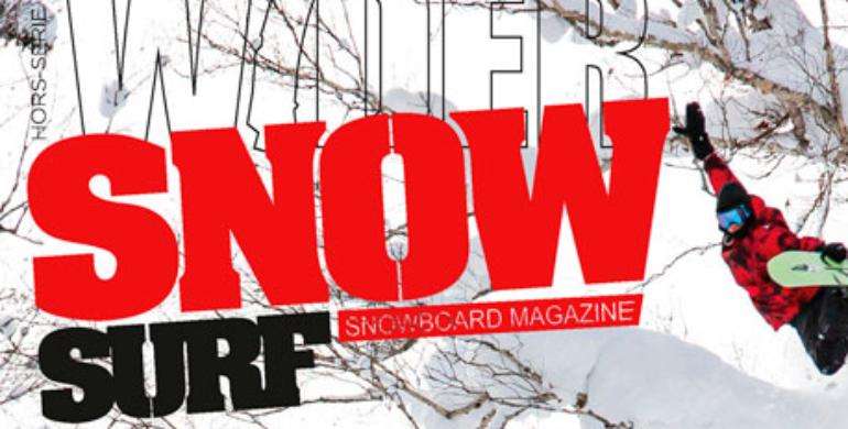 Clin d'oeil sur France Snowboard dans Snowsurf